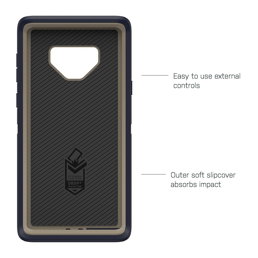 purchase cheap 21de2 60ea6 OtterBox Defender Case - Samsung Galaxy Note 9 (Blue)